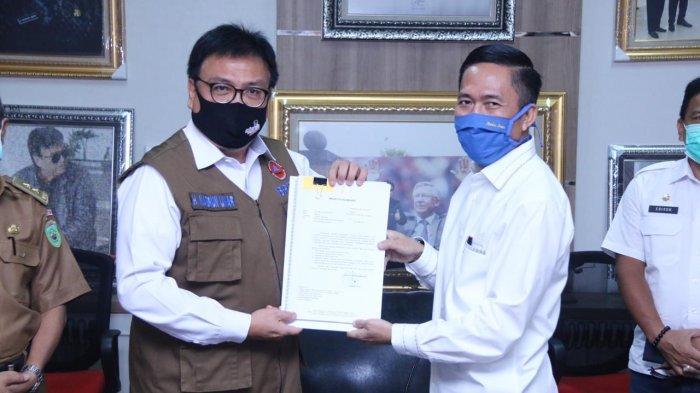 Akhirnya Pemkot Palembang Resmi Serahkan Usulan PSBB