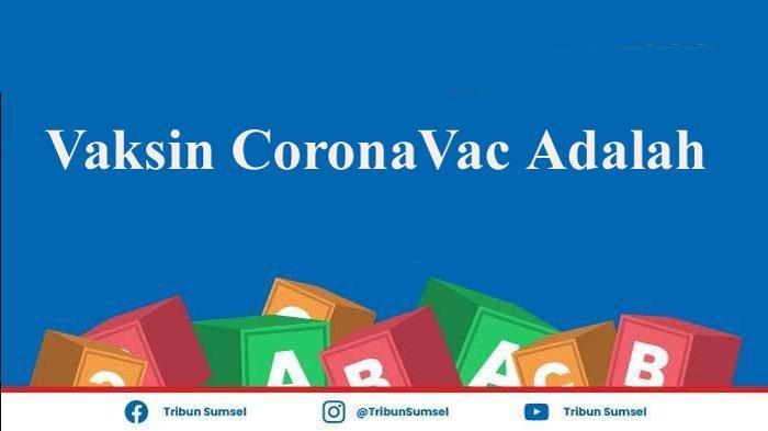 Apa Itu Vaksin CoronaVac? Apakah Sama dengan Sinovac? Ini Penjelasannya