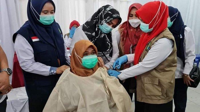 Stok Vaksin Covid-19 di Kabupaten Ogan Komering Ilir Hanya Tersisa Untuk Dosis Kedua