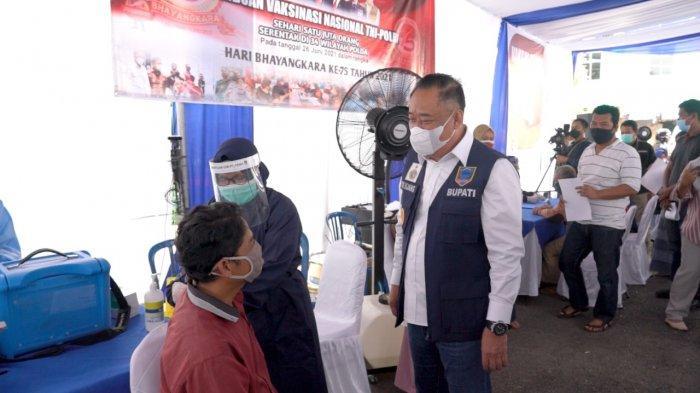 Pertamina Sukseskan Program 1 Juta 1 Hari Vaksinisasi di Fuel Terminal Lahat