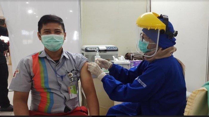 Sumsel Uji Coba Program 1 Juta Dosis Vaksin per Hari, Ini Rincian Pembagian Per Kabupaten/Kota