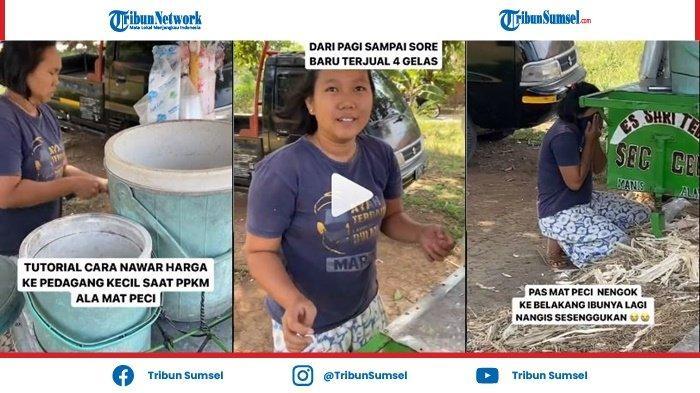 Sehari Hanya Laku 4 Gelas, Pedagang Es Tebu Menangis Saat Dibayar Rp 500 Ribu, Videonya Viral