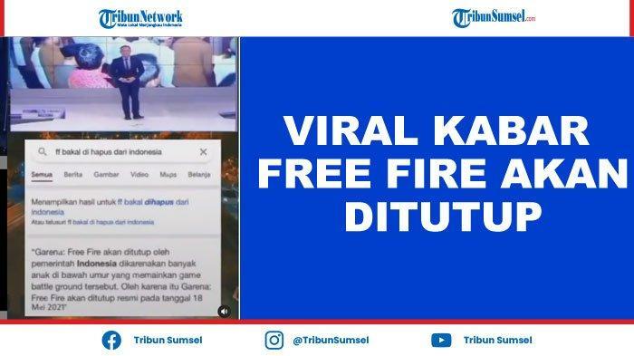 Viral Game Free Fire (FF) Akan Ditutup Pemerintah Indonesia? Ini Fakta Sebenarnya