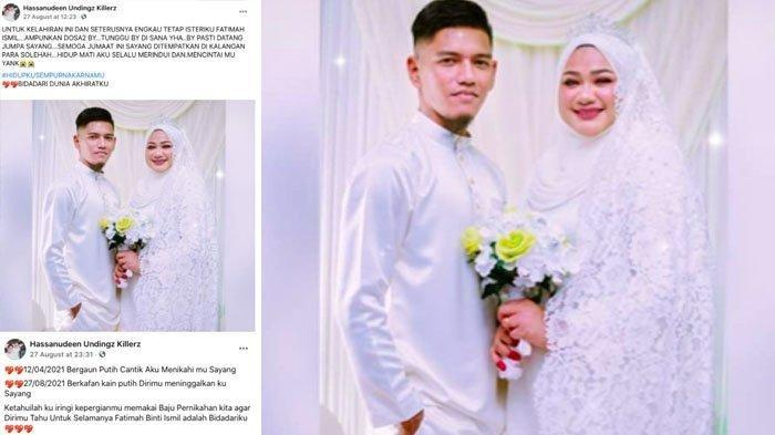 Baru 4 Bulan Nikah, Kisah Hassan Kenakan Baju Pernikahan Antar Jenazah Istri ke Pemakaman, Pilu