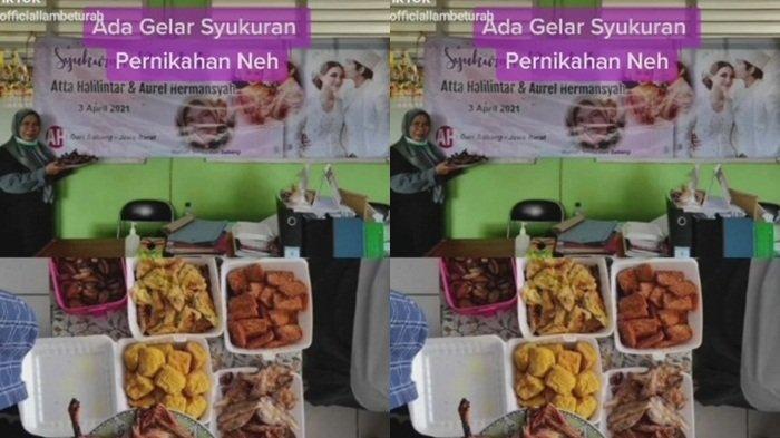 Viral Tiktok Emak-emak Diduga Guru Rayakan Syukuran Atta dan Aurel Menikah, Warganet Saling Debat