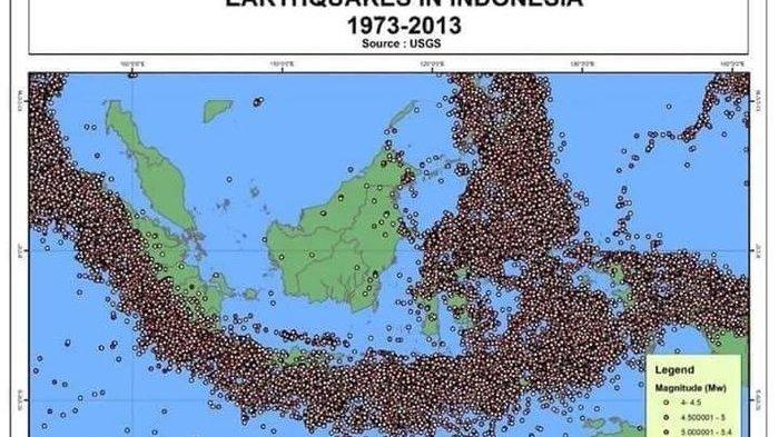 Ini 7 Sebab Indonesia Rawan Diguncang Gempa Bumi, Diantaranya Terletak di Titik pertemuan 3 Lempeng