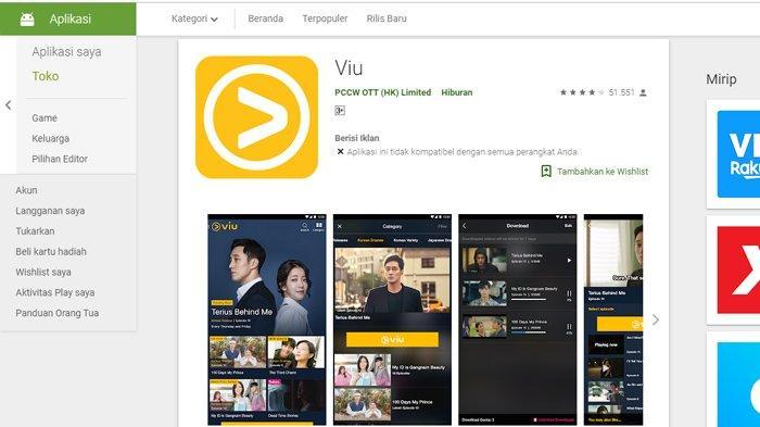 5 Aplikasi Nonton Drama Korea Sub Indo Terbaik 2020, Tonton Langsung di Smartphone Tanpa Lag