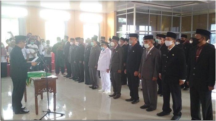 Lantik 38 Pejabat, Wabup Muratara Inayatullah 'Stretching' Pejabat Pakai Ayat Alquran Ini