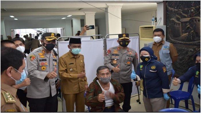 Kebut Vaksinasi Guru Kabupaten OKI Sambut Belajar Tatap Muka.