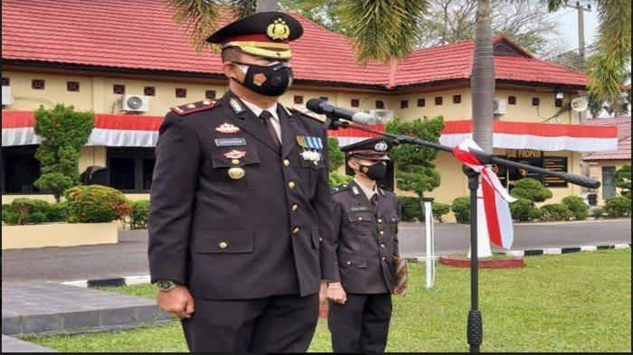 Wakapolres Ogan Ilir Pimpinan Upacara HUT ke-76 RI, Tingkatkan Nasionalisme Dalam Diri