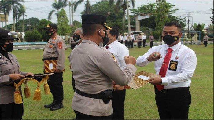 Ungkap Kasus Pembunuhan di Seribanding, 24 Personel Polres OI dan Polsek Pemulutan Dapat Penghargaan