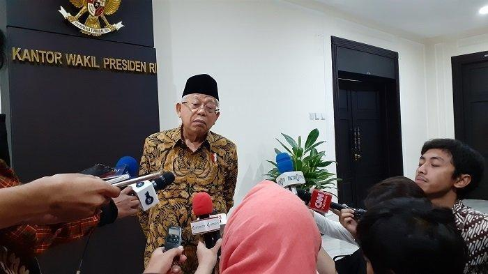 Faktor Usia Buat Wapres Ma'ruf Amin Tak Divaksin Covid-19 Tahap Pertama Bersama Presiden Jokowi