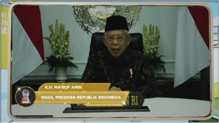 Ma'ruf Amin:Pemerintah Prioritas Perlindungan Jamsostek Non ASN dan Pekerja Rentan Seluruh Indonesia