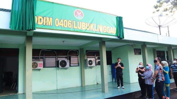 Wakil Walikota Lubuklinggau Resmikan Perubahan Nama Kodim 0406