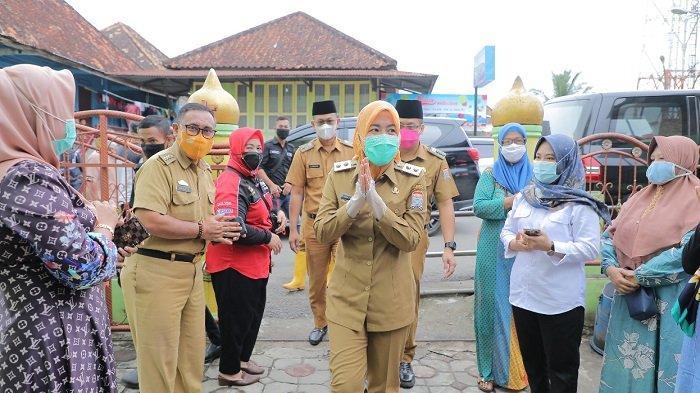 Wawako Palembang Fitrianti Ingin Wujudkan Tangga Buntung Jadi Kampung Bersinar