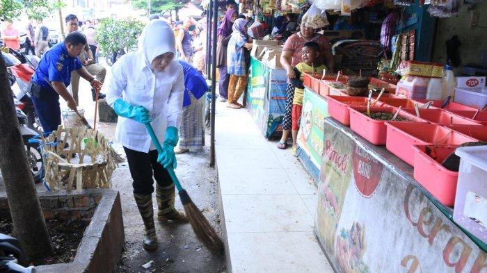 Pemerintah Kota Palembang Agendakan Program Bersih-bersih Pasar