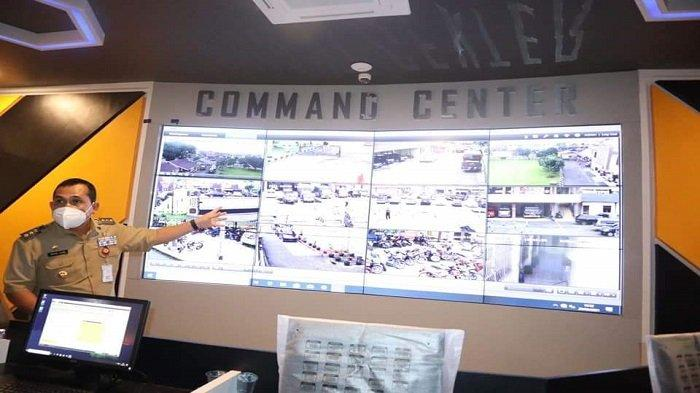 Wako Cek Kesiapan Command Center Mapolres Lubuklinggau