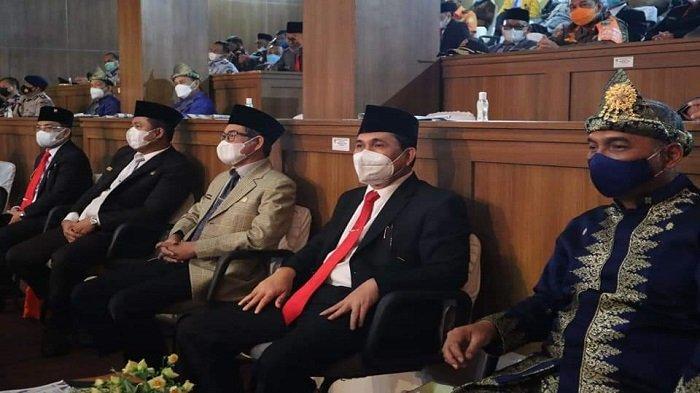Wako Lubuklinggau Hadiri Paripurna HUT Kabupaten Musi Rawas ke-78