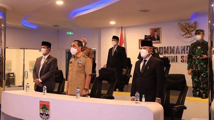 Wako Lubuklinggau  dan FKPD Ikuti Rakor dengan Presiden