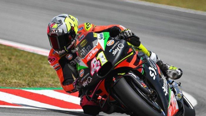 Pembalap Aprilia Gresini, Aleix Espargaro Tercepat Sesi Latihan Bebas MotoGP San Marino, Rossi 17