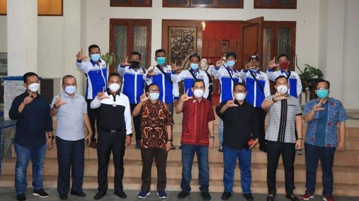 Wali Kota Lubuklinggau Jamu Peserta Forum Silaturrahmi Media Online se-Sumsel