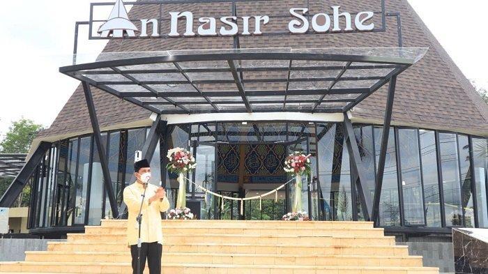 Wako Lubuklinggau Resmikan Masjid An-Nasir Sohe