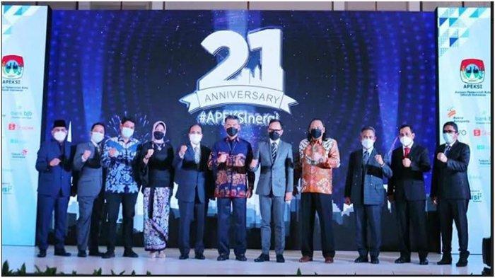 Wako Lubuklinggau H SN Prana Putra Sohe Hadiri Acara Syukuran Hari Jadi Apeksi ke-21