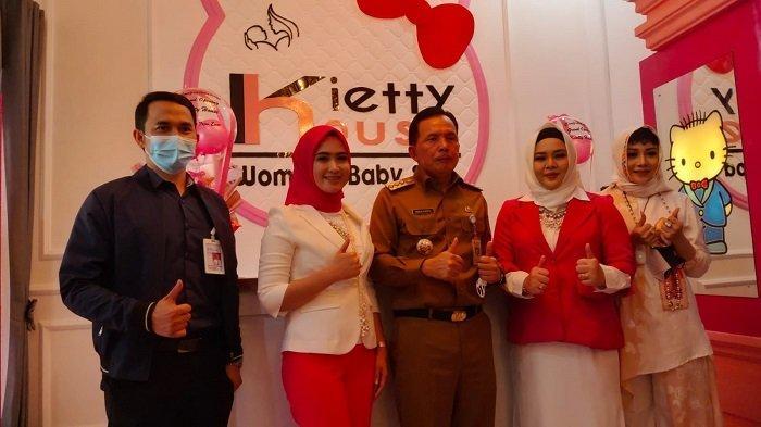 Resmikan Kietty House Women & Baby Spa Prabumulih, Ridho Ajak Warga Rawat Badan