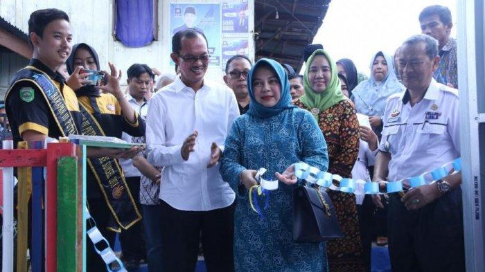 Walikota Palembang Resmikan Kampung KB Layang-layang dan Rumah Dataku di Kelurahan 29 Ilir