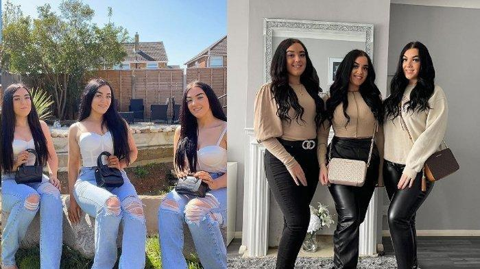 Cantik dan Menawan, Namun Wanita Kembar 3 Ini Malah Sulit Dapat Pacar, Ternyata Ini Alasannya