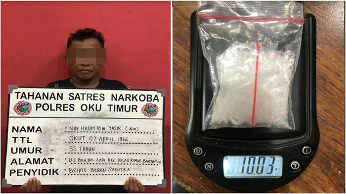 Simpan Sabu di Speedometer, Warga Banyuasin Ditangkap Satres Narkoba Polres OKU Timur