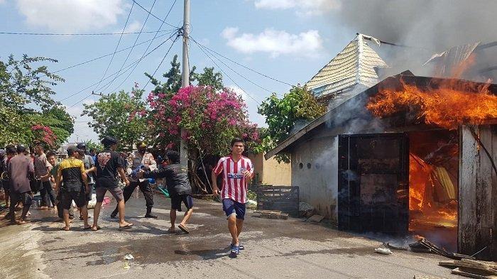 Teriakan Bocah 10 Tahun Selamatkan Jiwa Pemilik 25 Rumah Terbakar di Pemulutan Ogan Ilir