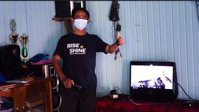 Warga Desa Laban Nyarit, Kabupaten Malinau Kalimantan Utara makin produktif siang dan malam sejak ada listrik.