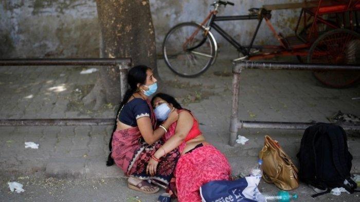 Mengintip Kondisi Covid-19 di India, Tangis Warga di Jalanan hingga Telan Korban Seperti Monster