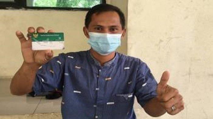 Pengobatan Sang Anak Dibantu JKN-KIS, Kini Rahman Tersenyum Lega