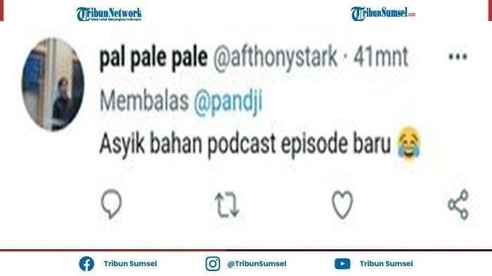 Usai Pandji Pragiwaksono Tanggapi Kabar Rektor Ui Rangkap Jabatan Dengan Emoji Tertawa, Warganet Sarankan Pandji Pragiwaksono Buat Podcast