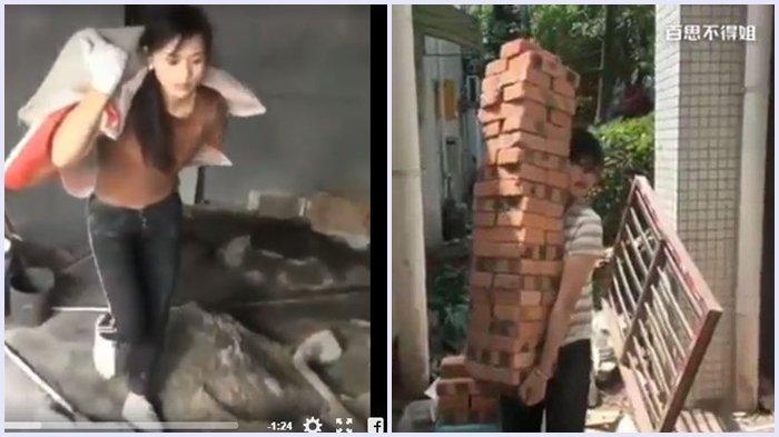 Gadis Cantik Ini Memilih Jadi Tukang Bangunan, Alasannya Sungguh Tak Terduga