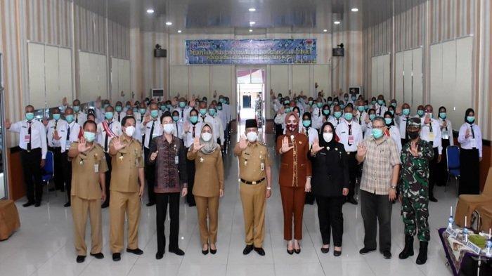 Wawako Buka Pelatihan Dasar CPNS  Pemerintah Kota Lubuklinggau Tahun 2021