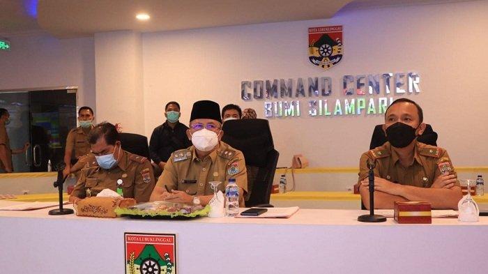 Pejabat Pemkot Ikuti Rakor Terintegritas dengan KPK
