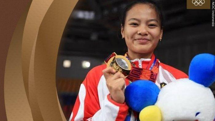 Profil Windy Cantika Aisah Atlet Angkat Besi Penyumbang Medali Pertama Indonesia di Olimpiade Tokyo