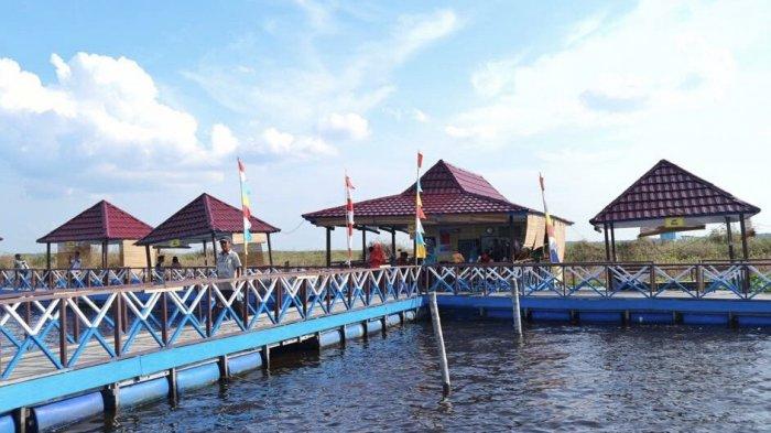 Wisata Danau Teloko Ramai, Sedot Ribuan Pengunjung Jadi Sumber Pendapatan Baru Warga