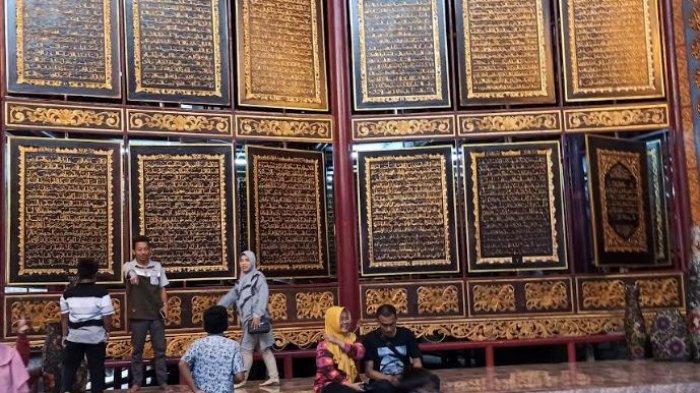 Libur Tahun Baru Islam, Objek Wisata Alquran Al Akbar Palembang Ramai Dikunjungi Wisatawan