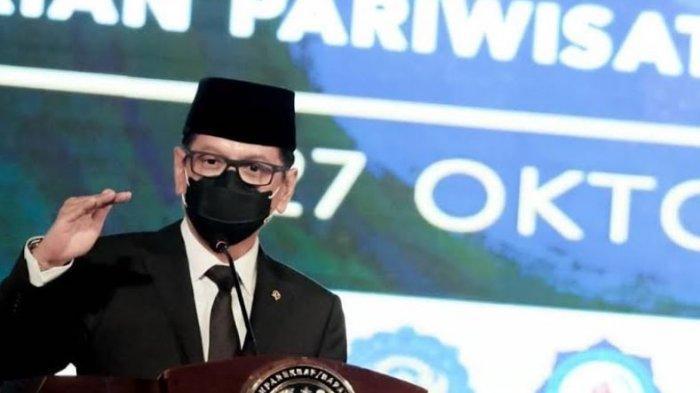 Ucapan Selamat Menparekraf Wishnutama Kepada Wisudawan Poltekpar Palembang