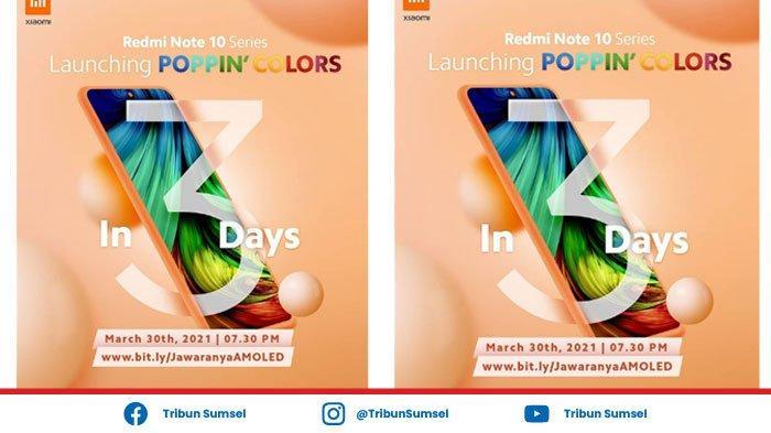 Xiaomi Redmi Note 10 Series Rilis di Indonesia 30 Maret 2021, Cek Harga & Spesifikasi Redmi Note 10