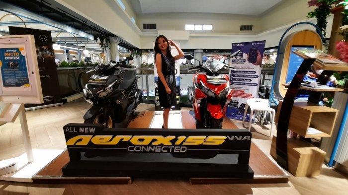 All New Aerox 155 Connected, Motor Teranyar Yamaha yang Dibanderol Rp 26 Jutaan