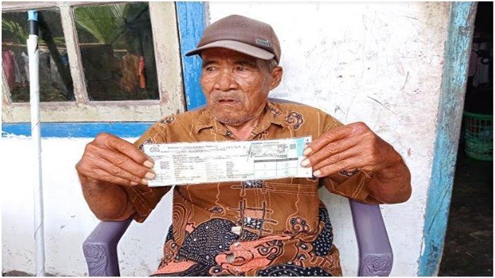 Kisah Pilu Kakek Penjual Es Keliling di Palembang, Motornya 2 Kali Dicuri, Pelaku Lambaikan Tangan