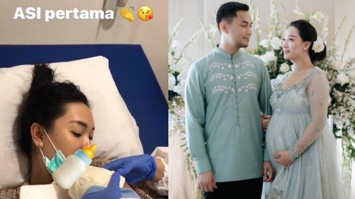 Zaskia Gotik Cemas, Tegangnya Sirajuddin Mahmud Saat Pertama Kali Gendong Bayinya : Awas Lehernya!