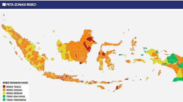 UPDATE 23 Februari : Penambahan Kasus Covid-19 Harian Jakarta Melambat, Jabar Naik Drastis