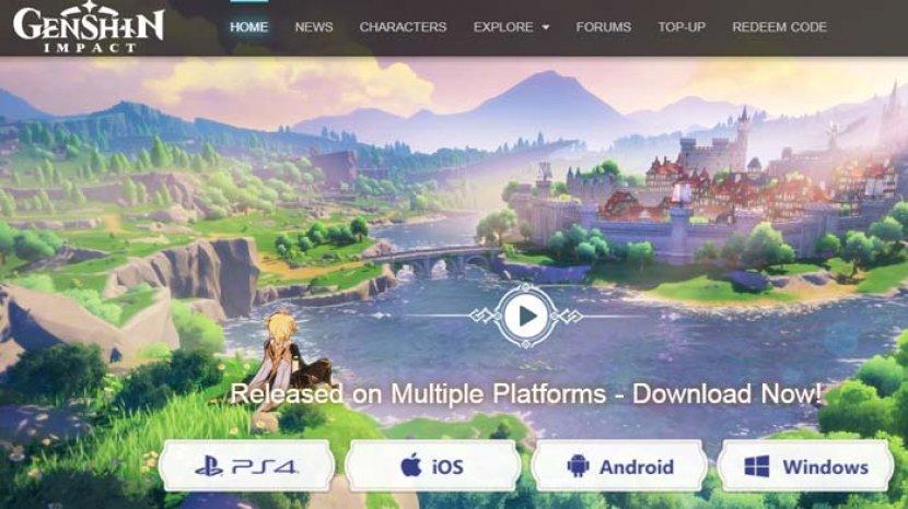 Download Game Genshin Impact Android Ios Playstation 4 Pc Game Action Rpg Online Terbaru Tribun Sumsel