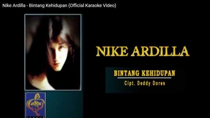 Lirik Chord Gitar Bintang Kehidupan Nike Ardilla Malam Malam Aku Sendiri Tanpa Dirimu Lagi Tribun Sumsel